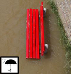 A Bench in a flood